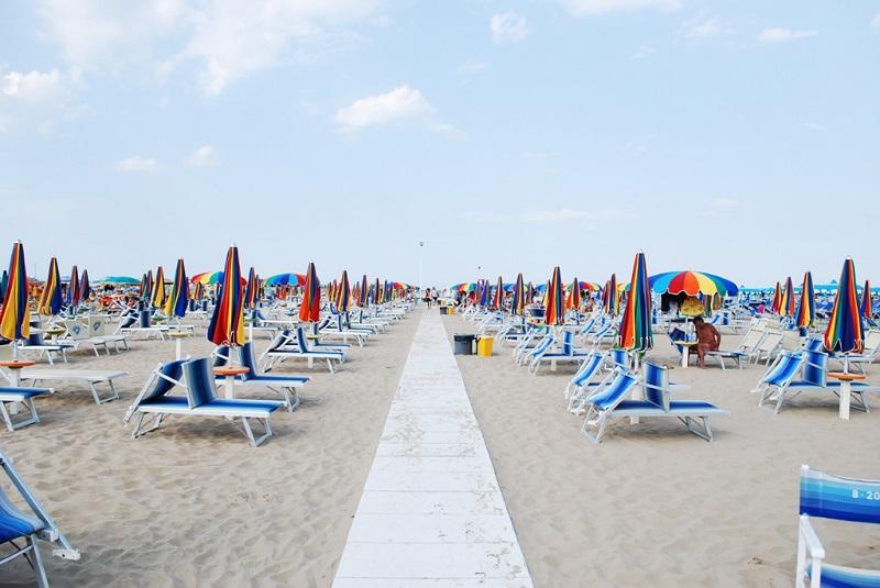 Rimini strandok